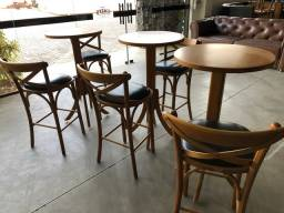 Mesa Bistrô + 2 cadeiras