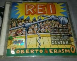 Antigo Cd de . Cantam Erasmo e Roberto Carlos