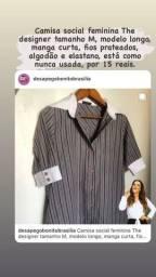 Camisa social feminina The designer tamanho M