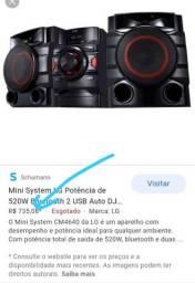 LG mini system 520w