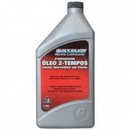 Óleo Tc-w3 1 Litro Quicksilver Premium 2t Mercury Lancha Barco