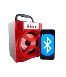 Caixa portátil via Bluetooth