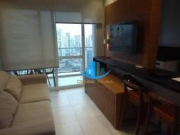 Lindo apartamento duplex muito bem decorado com 1 dormitório e uma 1 suite. Gonzaga- Santo