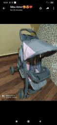 Vendo carrinho de bebê semi novo barato