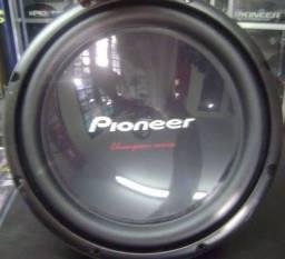 Alto falante sub Pioneer cara preta