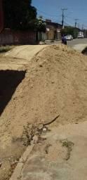 Arisco Areia de Morro Pedra Brita Pó de Brita Entulhos Aterro Areia