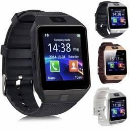 Relógio Smartwatch DZ09 - atenda ligações sem pegar no celular