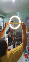 Ring Light 26cm (Acompanha tripé 1,80m) Toppp