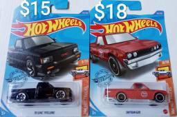 Pickups Hot Wheels Miniaturas Lote 2