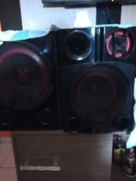 Mini system XBOOM LG, com sub of.