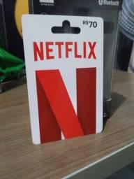 Cartão Netflix R$70,00