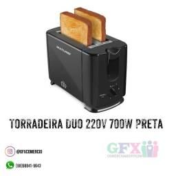 Torradeira 700W Preta