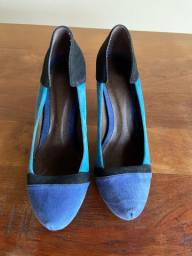 Sapato tricolor