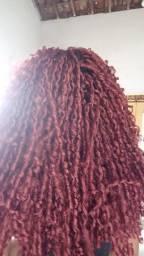 Trança e cabelo organico