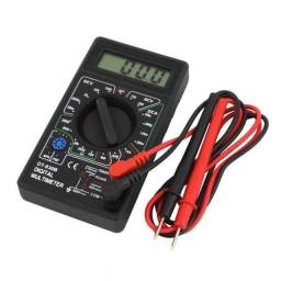 Multímetro Digital DT-830B Amperímetro com ponta de prova