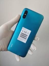 Celular Xiaomi Redmi 9A - 32GB Rom Global / 2GB Ram - Azul ou Preto - Caixa Lacrada