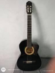 Promoção Vendo Violão Elétrico Vogga Cordas de Nylon Bem conservado.