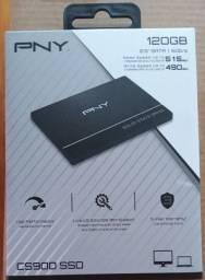 SSD 120gb PNY # novo