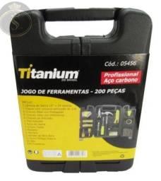 Kit Ferramentas C/200 Pçs Linha Profissional. <br>