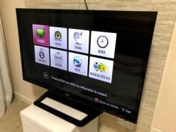 TV 42 LED LG Full HD com Conversor Digital e Entradas HDMI e USB