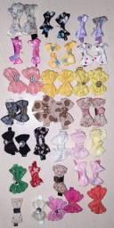 13 pares de lacinhos + 14 lacinhos de bebê
