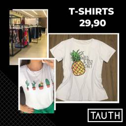 T-shirts femininas!
