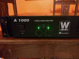 Amplificador Machine Wvox A 1000