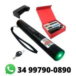 Super Caneta Laser Pointer Verde Longo Alcance