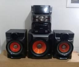 Vendo aparelho de som ou troco por máquina de lavar