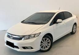 Honda Civic 1.8 LXS 16V Flex 4p Automático-2012/2013- Super Conservado - Oferta Imperdível