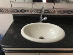 Cuba de embutir para banheiro