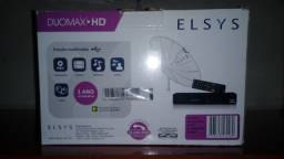 Receptor de sinal Digital e Analógico via satélite Elsys