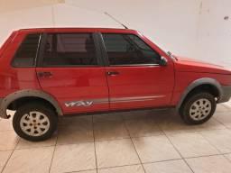 Fiat Uno Mille Way Economy 2009/2010