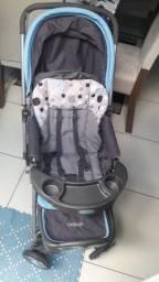 Carrinho de bebê e Trocador Gazerano