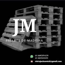 Paletes de madeira PBR
