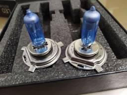 Kit lâmpada Philips H4 alta+baixa usadas