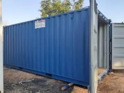 Locação de Container marítimo Usado 20 pés 06 metros Almoxarifado dry seco