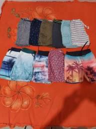 Vendo esses shorts semi novo a 15 reais cada um...são de 4 anos..