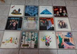 VINIL- LOTE C/12 LP'S/ YASICA SECRET SERVICE/CROWDRD HOUSE/RICK WAKEMAN +