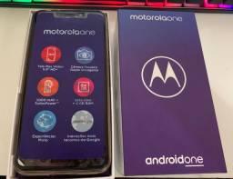 Smartphone Motorola One Branco 64GB