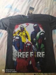 Camisas free fire