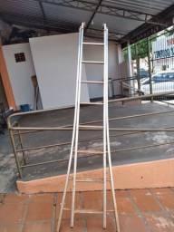 Escada em aluminio estensiva 8 degraus