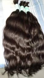 Promoção cabelo humano 65 ctm cada 100 grama tá 340