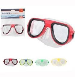 Óculos de Natação / Mascara De Mergulho Colors