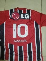 Camisa São Paulo Futebol Clube Original Autografada