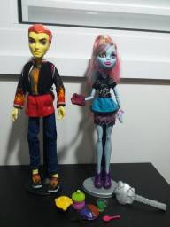 Bonecas Monster High Abbey e Heath