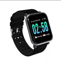 Novo Relógio Smartwatch A6 - Marca batimentos e atividades