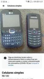 celulares simples 100 reais