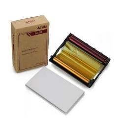 Papel Hiti S420 Ribbon Impressora - Kit Com 50 Folhas