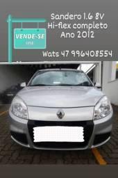 Vende-se Sandero 1.6 2012 hi-flex 8v